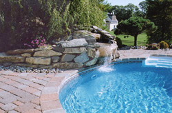 Pool Hardscapes, Waterfalls & Ponds